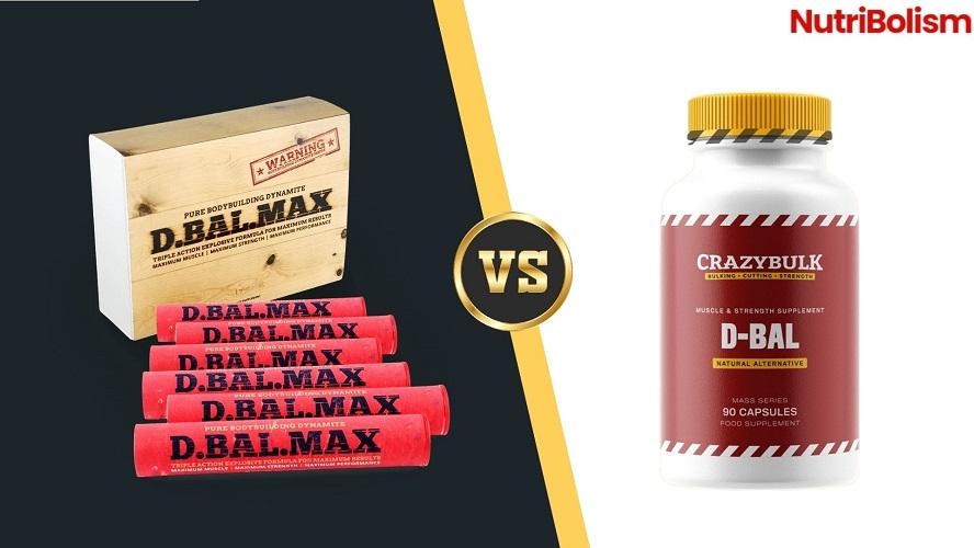 D-Bal vs D-Bal Max