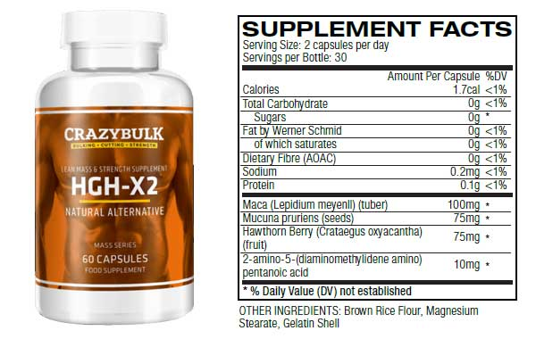 HGH-X2 New Formula