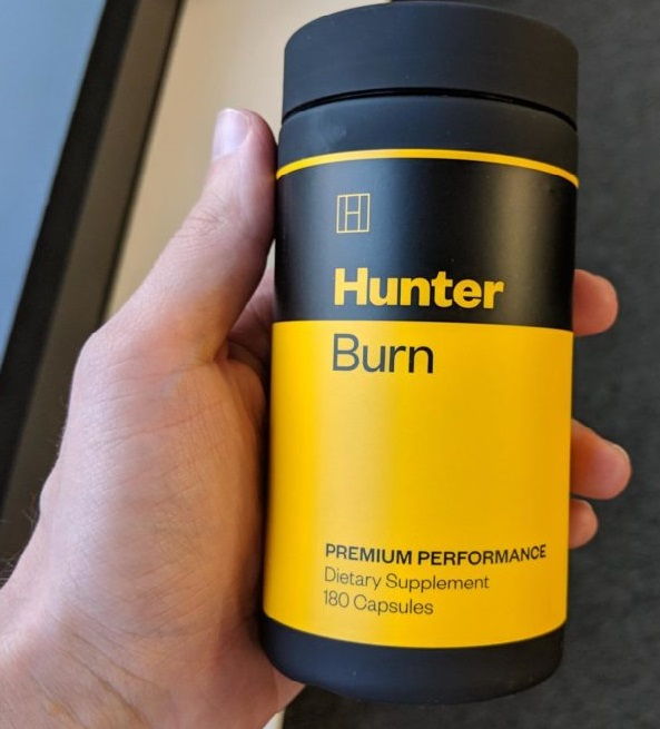 Hunter Burn Bottle