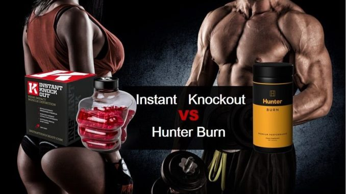 instant knockout vs hunter burn