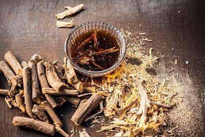active ingredients in lightening solution