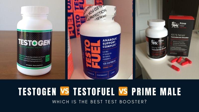 TestoGen vs TestoFuel vs Prime Male