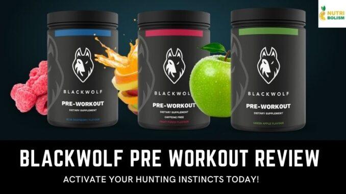 BlackWolf Pre-Workout