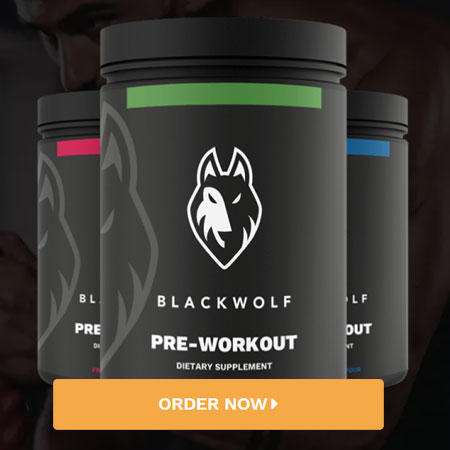 BlackWolf Pre-Workout Supplement