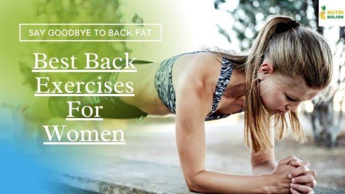 Back Exercises For Women