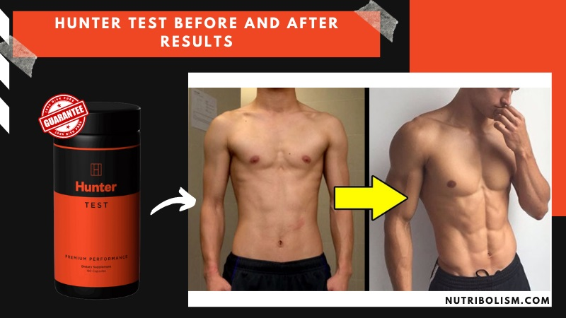 hunter test before and after