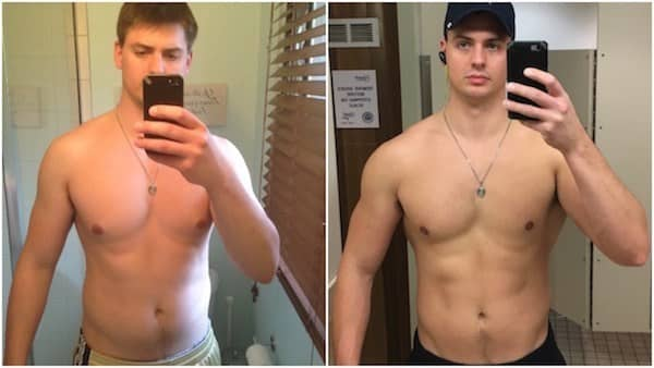 Before and After Transformation